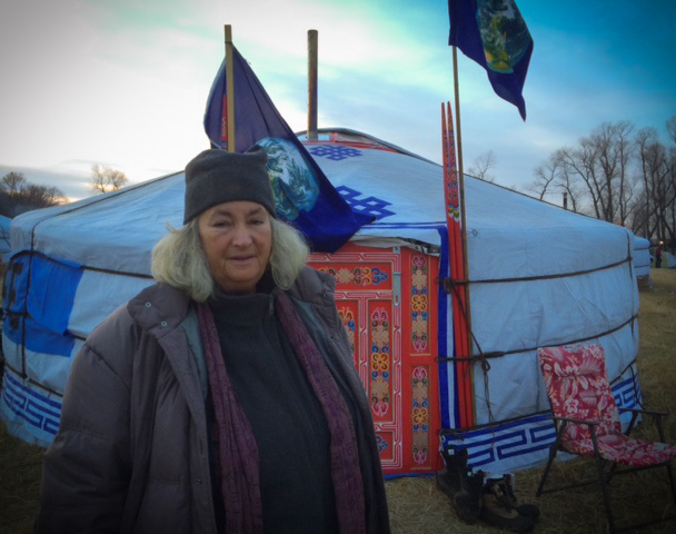 starhawk at standing rock